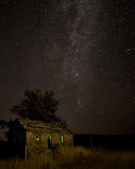 Milky Way Abandoned House 6793 A (jim.choate59) Tags: jchoate on1pics milkyway stars night longexposure sky abandoned lightpainting bakercityoregon oncewashome spooky dark summersky nightphotography