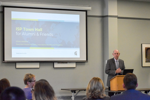 ISP Town Hall for Alumni and Donors, September 2019