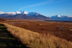 286/365  Anchorage Coastal Wildlife Refuge (OhWowMan) Tags: 365the2019edition 3652019 day286365 13oct19 ohwowman nikon nikkor d3300 acdseepro9 my2019challenge 365project animageaday dailyphotography alaska anchorage anchoragecoastalwildliferefuge landscape nature outdoors mountains trees snowcapped fall autumn inlet cookinlet carrgottsteinpark mudflats marsh shore turnagainarm