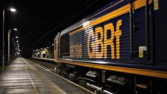 Palindrome 66 (TimboM) Tags: gbrf gbrailfreight hartford hartfordstation wcml class66 cement emd shed 66766 4m82 freighttrain freight