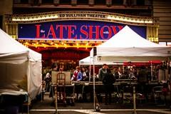 Late Show (Nun Nicer Artist) Tags: theater lateshow newyork 35mm 35mmstreetphotography streetphotography street nyc manhattan travel showbiz nunnicer goldenhour