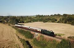 4144, Arley (Mr Joseph Bloggs) Tags: svr steam severn valley railway train treno bahn railroad zug vlak arley bewdley drone 4144 prairie gwr great western