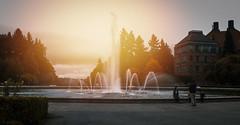 Drumheller Fountain, Seattle, WA (My world - 我的世界) Tags: drumhellerfountain seattle wa