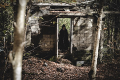 (Emily Boyer Photography) Tags: adirondacks adk adks creepy canon canonphotography canon5d conceptualphotography conceptual horror photography photoshop lightroom woods forest hauntedforest cult art fineart ghost ghosttown tawahus emilymartin