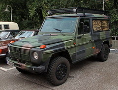 290GD (Schwanzus_Longus) Tags: hamburg german germany old classic vintage military army bundeswehr 4x4 awd 4wd suv mercedes benz 290gd 290 gd g class wagen wagon