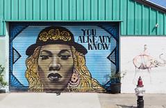 Mural N Rampant St New Orleans. (Bernard Spragg) Tags: murals streetart wall lumix street paintings neworleans rampartstreet