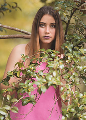 hey do you see me (Ronnie Newman Photography) Tags: portrait portraits people photography photos photo photographer girl model tree branch eyes lady woman
