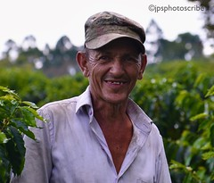 Zona Cafetera (stewardsonjp1) Tags: heat smile bean portrait worker cap man zonacafetera colombia southamerica plantation plant coffee