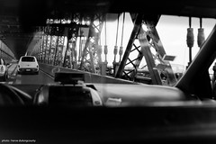 Queensboro Bridge (hervedulongcourty) Tags: canoneos5dmarkii canoneos bridge city cityscape canon planar5014ze pont taxi nyc car voitures queens bw carlzeisslenses photo usa ciel manualfocus nb manhattan blackandwhite ombre uppereastside carlzeiss automotive queensborobridge citylife sky zeiss cars unitedstates automobile photography zeissplanart1450ze