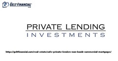 Finding Private Lenders (geltfinancial) Tags: loans finding private lenders