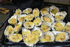 DSC_9251 (photographer695) Tags: brandy hole oysters essex emeralds from billingsgate fish market docklands london rockefeller consists halfshell that have been topped with lime cheddar cheese corn flower then baked or grilled oven