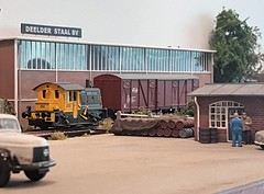 Valkenveld in the 1970s (dmq images) Tags: valkenveld modelleisenbahn model railway railroad scale schaal modelspoor h0 187 layout inglenook
