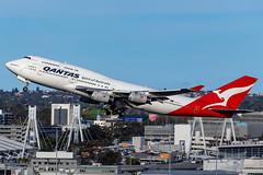 VH-OJU QF B747 34L YSSY-8252 (A u s s i e P o m m) Tags: sydney newsouthwales australia qantas qf boeing b747 syd yssy vhoju sydneyairport
