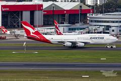 VH-OJU QF B747 34L YSSY-7948 (A u s s i e P o m m) Tags: sydney newsouthwales australia qantas qf boeing b747 syd yssy vhoju sydneyairport