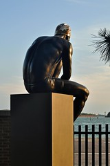 Longing for the sea (mikael_on_flickr) Tags: sehnsucht longingforthesea statue statua scultura sculpture skulptur venezia venice venedig