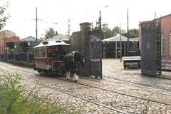 'Joseph' and 15 Crich Tramway Village (localet63) Tags: crichtramwayvillage sheffieldcorporationtramways horsedrawn tramcar 15