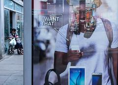 I want that (klauslang99) Tags: toronto klauslang streetphotography advertisement