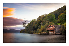 The Duke of Portland Boathouse (Rich Walker Photography) Tags: lakedistrict ullswater lake nountain boathouse waterside landscape landscapes landscapephotography cumbria trees cloud sunset canon england efs1585mmisusm eos eos80d