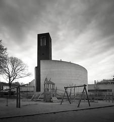st. theodor (schromann) Tags: böhmsttheodorvingst church kirche concrete beton brut round rund cylinder köln cologne germany contemporary architecture architektur