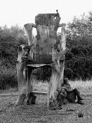 Excerpt XVI (Desperate John) Tags: giants chair man boy ball rabbit magpie