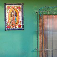 VdG by the window (msdonnalee) Tags: virgendeguadalupe window janela fenster finestra fenêtre ironwork windowgrill hww