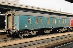 V 95305 280492 (stevenjeremy25) Tags: mk1 parcel van railway coach carriage train ncv 95305