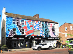 ABSTRACT MURAL. (tommypatto : ~ IMAGINE.) Tags: merseyside newbrighton murals streetart