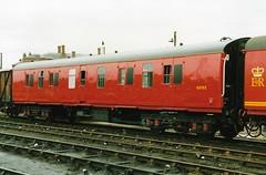 V 92132 090989 (stevenjeremy25) Tags: mk1 parcel van railway coach carriage train 92132 nha