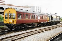 C DM45026 3 190795 (stevenjeremy25) Tags: observation saloon qxv 45026 dm45026 railway coach carriage train 37146 diesel