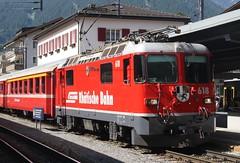 20190702 - 6498 - RhB - 618 - 1547 Landquart to Davos Platz - Klosters Platz (Paul A Weston) Tags: switzerland rhb rhatischebahn klostersplatz 618 1547landquarttodavosplatz