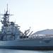 Port side aft quarter USS Iowa BB 61 first of 4 WWII Fast BattleshipsDSC_0421