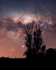 Milky Way at Dwellingup, Western Australia (inefekt69) Tags: milky way dwellingup lane poole reserve western australia great rift panorama stitched ms ice landscape wide astrophotography astronomy stars galaxy galactic core space night photography nikon 35mm d5500 dslr long exposure perth southern hemisphere cosmos outdoor sky ioptron skytracker tracked nature milkyway