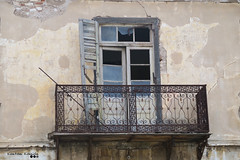 Another Old Story... (Κώστας Καϊσίδης) Tags: house balcony oldstory old frenchdoor oldfrenchdoor oldhouse oldwood railing oldrailing architecture lavrio attiki attica greece hellas kostaskaisidis canon ngc outdoor outside wall architecturaldetails