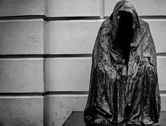 Photo (BadSoull) Tags: prague photo sony a6300 outside trip europe czechia czech republic 2019 mirrorless statue black white bnw nocolor