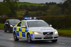 VX61 KVM (S11 AUN) Tags: staffordshire staffs police volvo s80 d5 tactical support team tst roadcrime anpr traffic car rpu roads policing unit 999 emergency vehicle vx61kvm