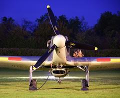 Hawker Sea Hurricane 1b (rac819) Tags: oldwarden shuttleworthcollection shuttleworthtrust nightshoot nikond750 nikkor 24120 f4 vr nikkor24120f4vr hawkerseahurricane seahurricane hawker