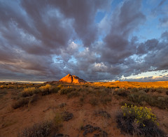 Gusty Sunrise (xjblue) Tags: 2019 escalantecanyonstocapitalreef october southernutah canyon desert fall landscape sandstone trip sunrise scenic morning camping backcountrytravel
