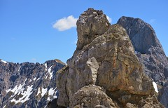 Mittenwald - Karwendelspitzen (cnmark) Tags: karwendel mittenwald blue sky mountain clouds germany outdoors bayern deutschland bavaria wolken westliche karwendelspitzen alps landscape alpen range gebirgskette ©allrightsreserved mountains