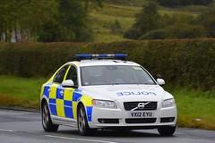 VX12 EYU (S11 AUN) Tags: staffordshire staffs police volvo s80 d5 tactical support team tst roadcrime anpr traffic car rpu roads policing unit 999 emergency vehicle vx12eyu