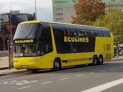 LTU Transinesta 261 ● Groningen Stationsweg (Roderik-D) Tags: neoplan skyliner doubledeckerbus touringcar reisebus groningenstation gtf167 261