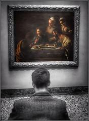The Art Lover (FotoFling Scotland) Tags: italy oldmaster artlover flickr milan pinacotecadibrera milano lombardia male artgallery museum