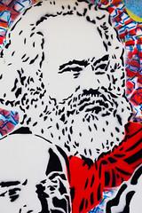 Grow a Beard (Thomas Hawk) Tags: california missiondistrict sanfrancisco usa unitedstates unitedstatesofamerica graffiti stencil fav10 friedrichengels