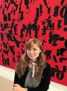 Institute of Contemporary Art Director, Melissa Wallen, ready for a tour of the ICA