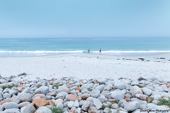 17-Mile Drive - Spanish Bay (Yvonne Oelsner Photography) Tags: aquamarine cyan spanishbay 17miledrive pacificgrove monterey beach stones sky california pacificocean minimalism landscape seascape roadtrip azur turquoise