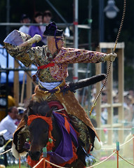 八王子流鏑馬 Hachioji Equestrian Archery 17 (ashleybrownpix) Tags: japan horse archery traditional costume