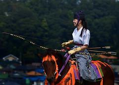 八王子流鏑馬 Hachioji Equestrian Archery 04 (ashleybrownpix) Tags: japan horse archery traditional costume