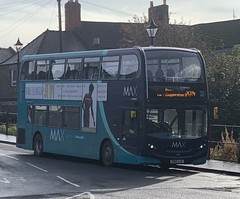 Arriva North East 7554 SN15 LLE (14/10/2019) (CYule Buses) Tags: servicex15 arrivamax arrivabus arrivanortheast enviro400 alexanderdennis alexanderdennisenviro400 sn15lle 7554