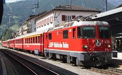 20190702 - 6499 - RhB - 618 - 1547 Landquart to Davos Platz - Klosters Platz (Paul A Weston) Tags: switzerland rhb rhatischebahn klostersplatz 618 1547landquarttodavosplatz