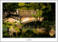 The Bridge In The Trees (flatfoot471) Tags: 150600sigma 2017 garscube glasgow landscape may normal riverkelvin scotland unitedkingdom cityofglasgow