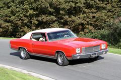 Chevrolet Monte Carlo (1972) (Roger Wasley) Tags: ttu894h chevrolet monte carlo 1972 prescott speed hill climb classic car vehicle